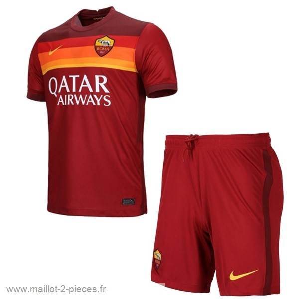 Boutique De Foot Domicile Conjunto De Enfant AS Roma 2020 2021 Rouge