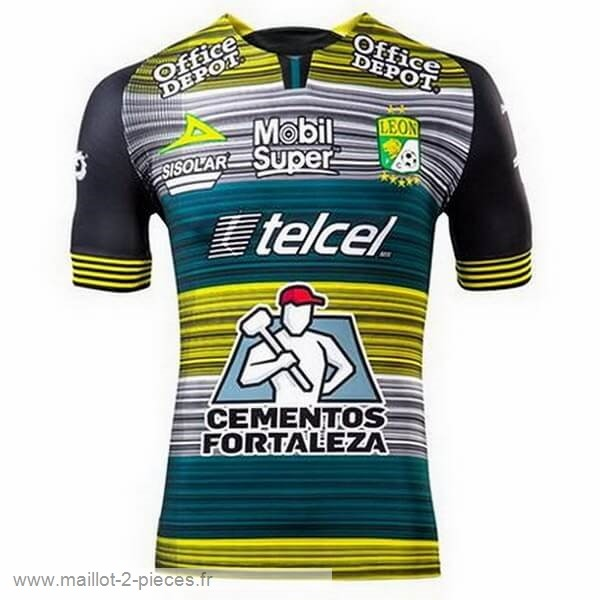 Boutique De Foot Third Maillot Club León 2020 2021 Vert