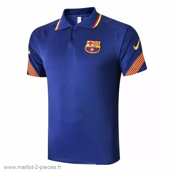 Boutique De Foot Polo Barcelona 2020 2021 Bleu Orange