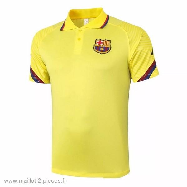 Boutique De Foot Polo Barcelona 2020 2021 Jaune