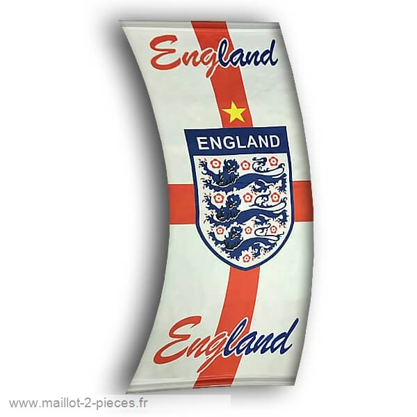 Boutique De Foot Football Drapeau de Angleterre Blanc