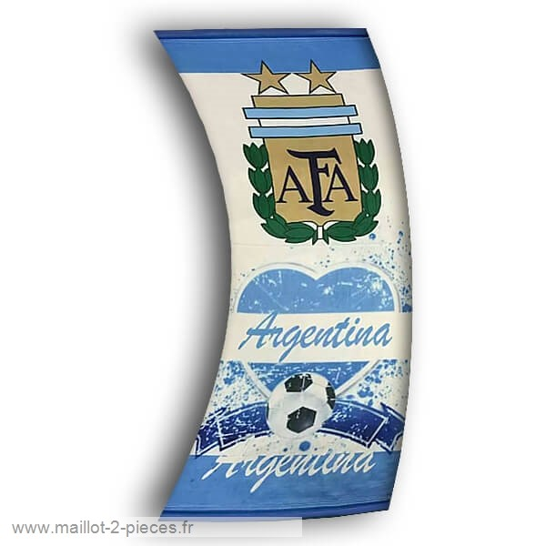 Boutique De Foot Football Drapeau de Argentine Blanc