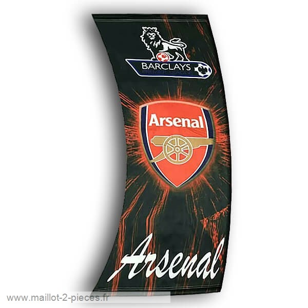 Boutique De Foot Football Drapeau de Arsenal Noir