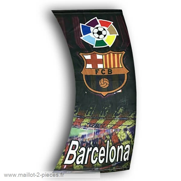 Boutique De Foot Football Drapeau de Barcelone Noir