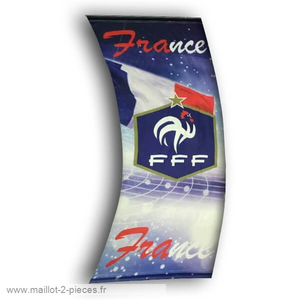 Boutique De Foot Football Drapeau de France Bleu