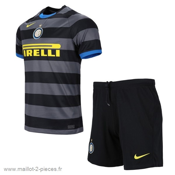 Boutique De Foot Third Conjunto De Enfant Inter Milán 2020 2021 Gris
