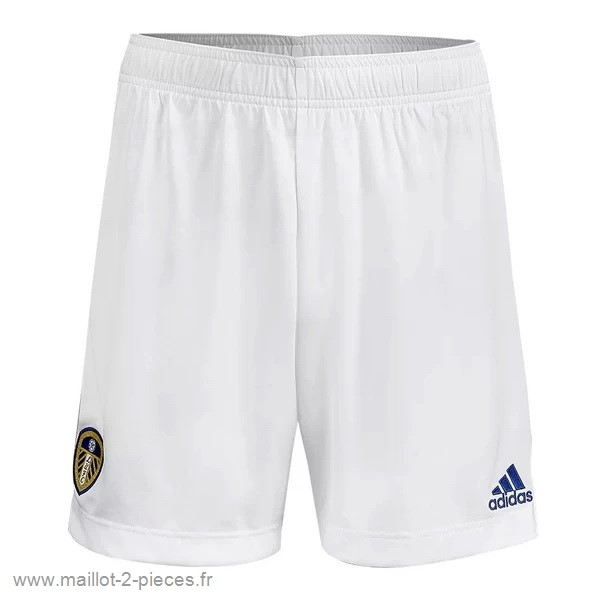 Boutique De Foot Domicile Pantalon Leeds United 2020 2021 Blanc