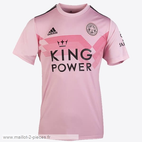 Boutique De Foot Thailande Exterieur Maillot Leicester City 2019 2020 Rose