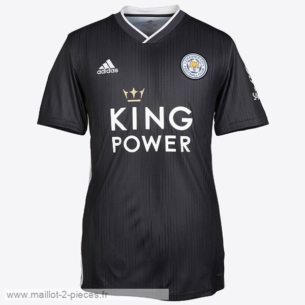 Boutique De Foot Thailande Third Maillot Leicester City 2019 2020 Noir