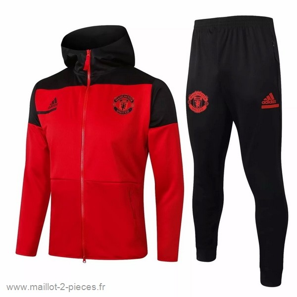 Boutique De Foot Survêtements Manchester United 2020 2021 Rouge Noir