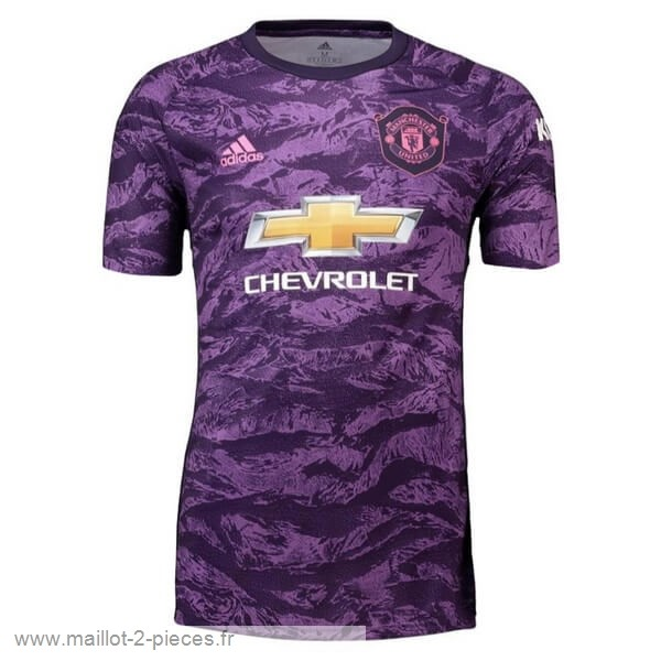 Boutique De Foot Maillot Gardien Manchester United 2019 2020 Purpura