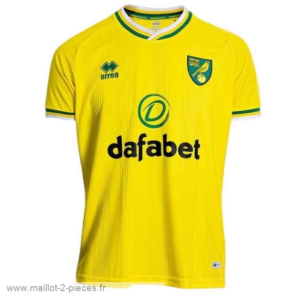 Boutique De Foot Domicile Maillot Norwich City 2020 2021 Jaune