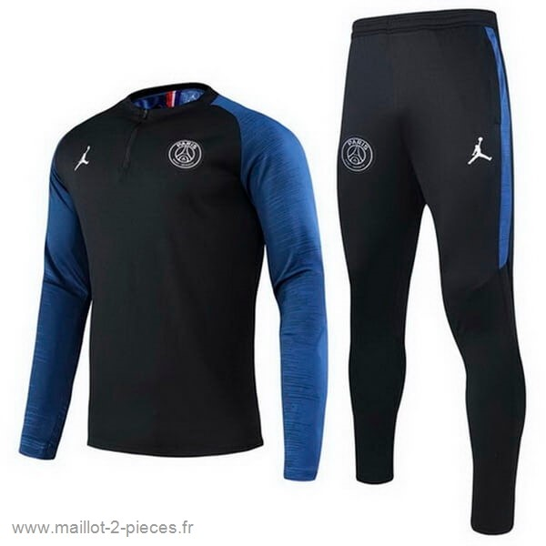 Boutique De Foot Survêtements Paris Saint Germain 2020 2021 Noir Bleu