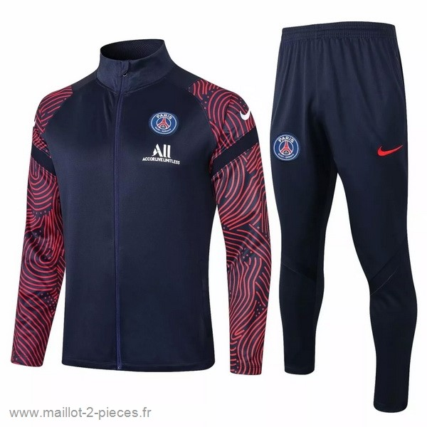 Boutique De Foot Survêtements Paris Saint Germain 2020 2021 Noir Rouge
