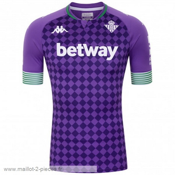 Boutique De Foot Exterieur Maillot Real Betis 2020 2021 Purpura