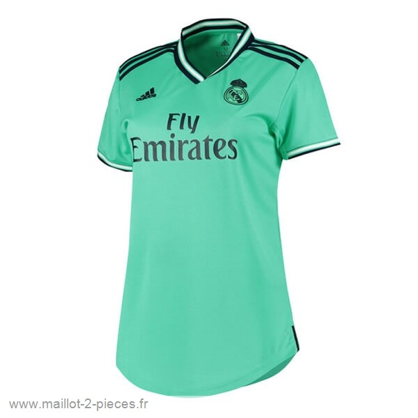 Boutique De Foot Third Maillot Femme Real Madrid 2019 2020 Vert