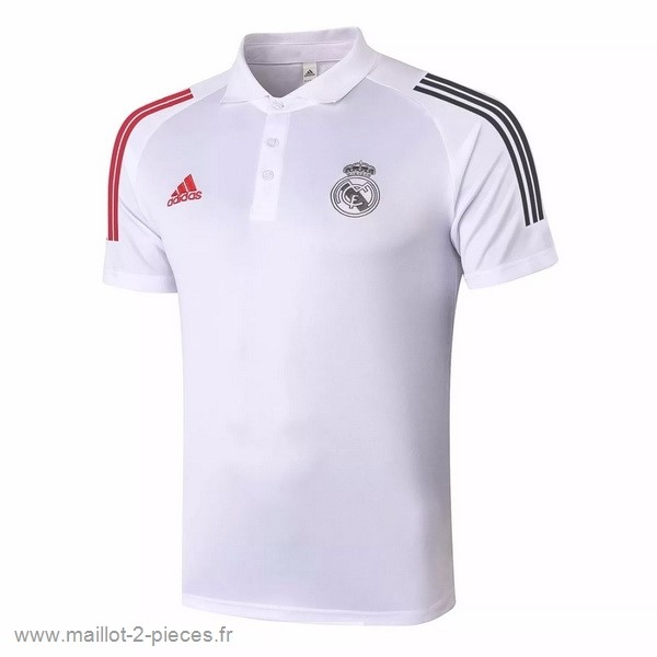 Boutique De Foot Polo Real Madrid 2020 2021 Blanc Rouge
